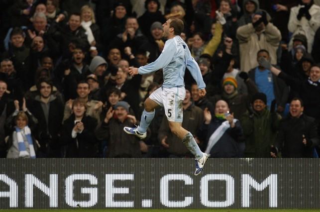 SCORESHEET: Zabaleta scores his first goal for City in 2009