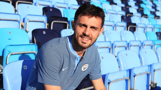 PORTRAIT: Bernardo Silva posed for the camera