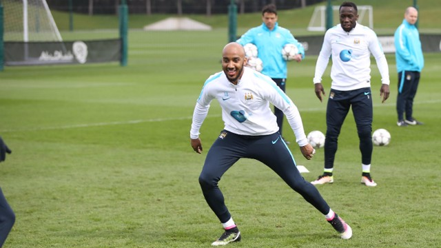 CLOSING ON A COMEBACK: Fabian Delph
