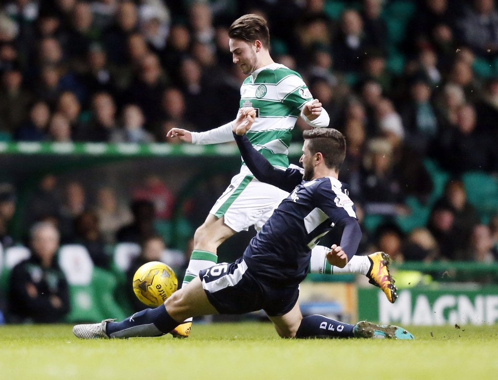 LOAN RANGER: Roberts in action for Celtic during his loan spell in 2016