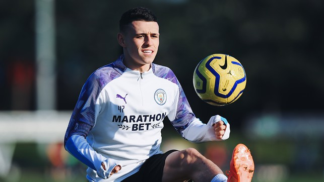 FODEN FOCUS: Is Phil making the ball actually hover?