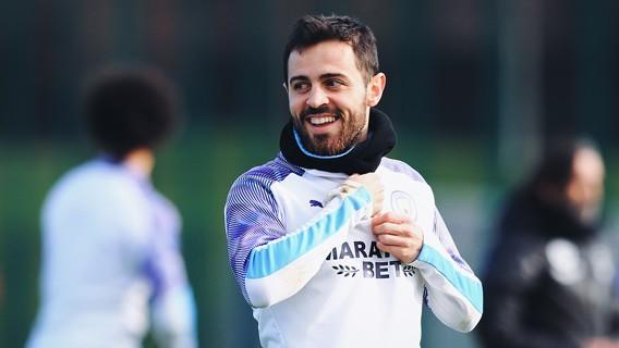 BERNARDO: Setiap sesi selalu ada senyum Silva...