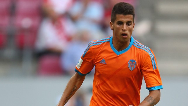 REIGN IN SPAIN: Initially joining on loan, Cancelo did enough in 13 games to convince Valencia to make the deal permanent and he went on to play 75 times in the next two campaigns.