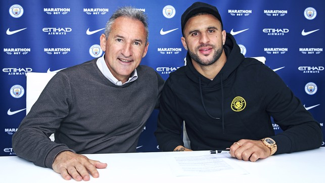 Our man - Txiki completed the paperwork with Kyle