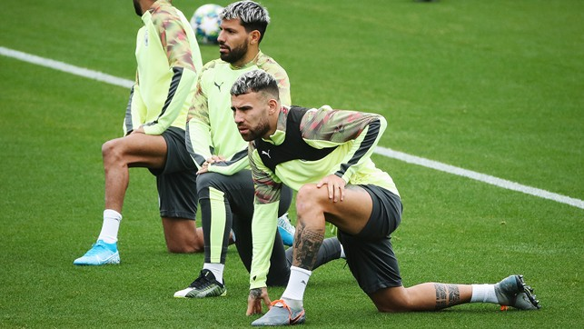 ARGENTINE DUO: Sergio and Nico