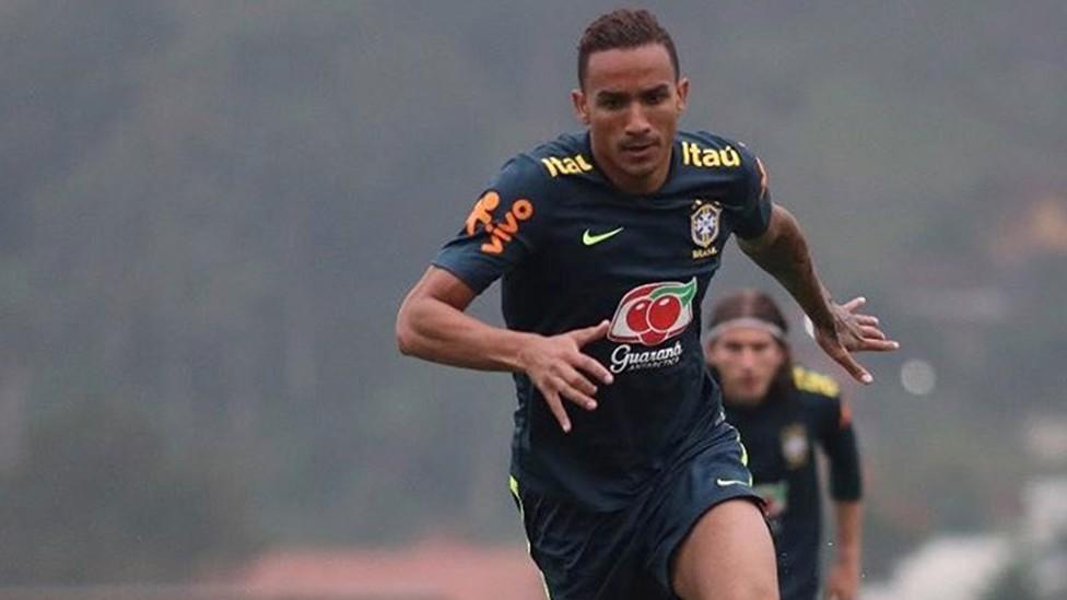 FOCUSED: Danilo is fully focused