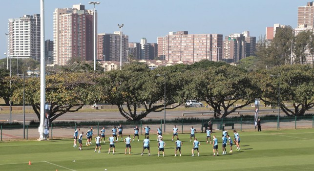 2013: City get to work in Durban, South Africa.