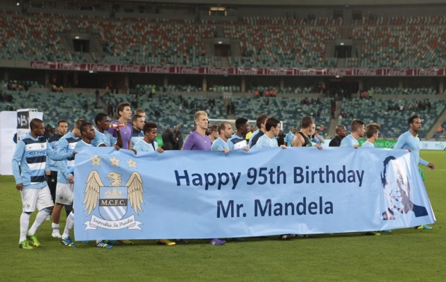 2013: Birthday wishes for Nelson Mandela!