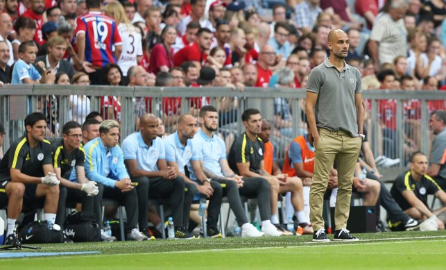2016: Pep back at Bayern.