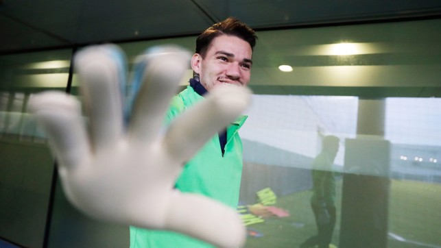 EDS UP: Will Ederson enjoy another rest against the Robins