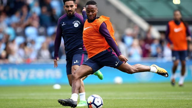 SNAPSHOT: Raheem strikes one.