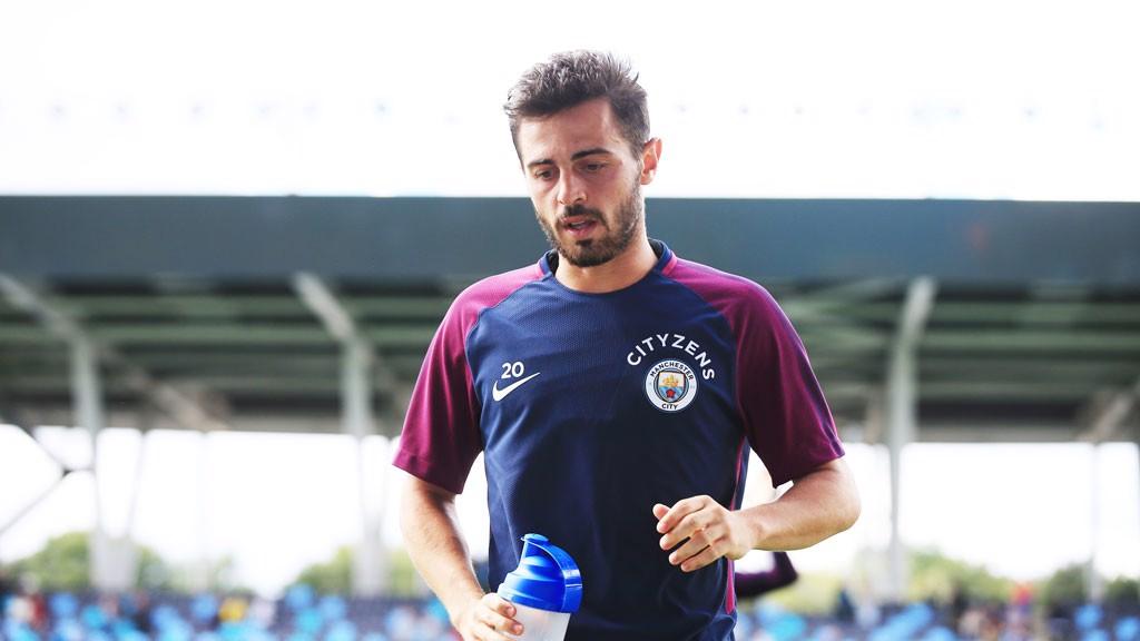 PREPARADO. Bernardo, en plena dinámica a pesar de incorporarse al término de la gira por los Estados Unidos.