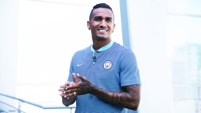 NEW CHALLENGE: Danilo is looking forward to Premier League life