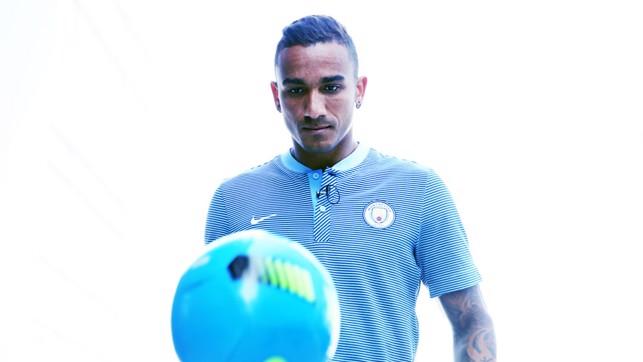 EYE ON THE BALL: Defender Danilo also has an eye for goal