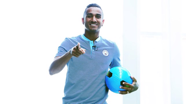 READY: Danilo points the way forward