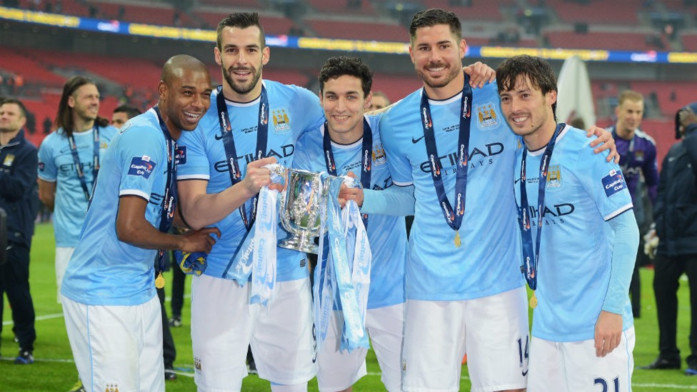 CAPITAL ONE SUCCESS: March 2014 was a hugely successful one not only for City but especially for Silva, he won Player of the Month for his impressive performances.