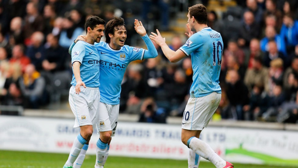 PLAYER OF THE MONTH: In March 2014, Silva's goal v Hull when City were down to 10 men is fondly remembered.