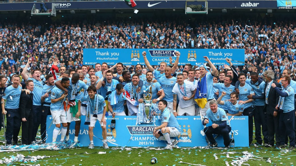 SPOT SILVA TAKE TWO: This time we look for David after he helped City secure the 2013/14 Premier League trophy.