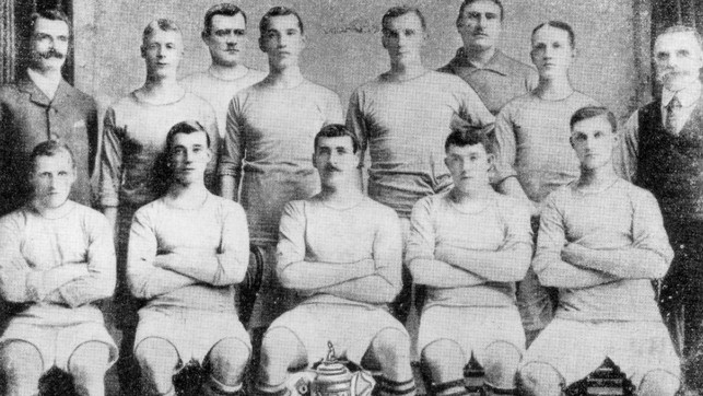 1904: We start with our very first FA Cup when we sealed a 1-0 win over Bolton.