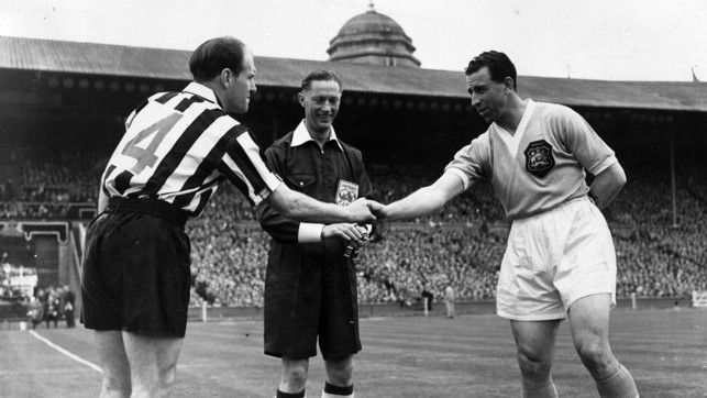 1955: Runners-up to Newcastle this time...