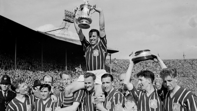 1956: Our third FA Cup win after beating Birmingham 3-1 thanks to goals from Joe Hayes, Bobby Johnstone and Jack Dyson.