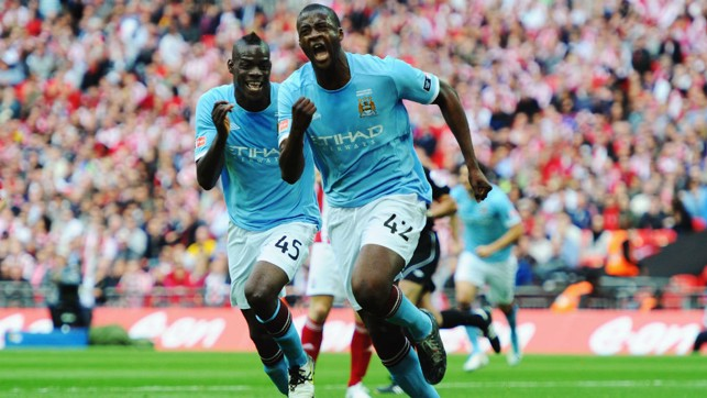 2011: Yaya Toure's goal sealed our most recent FA Cup win over Stoke City.