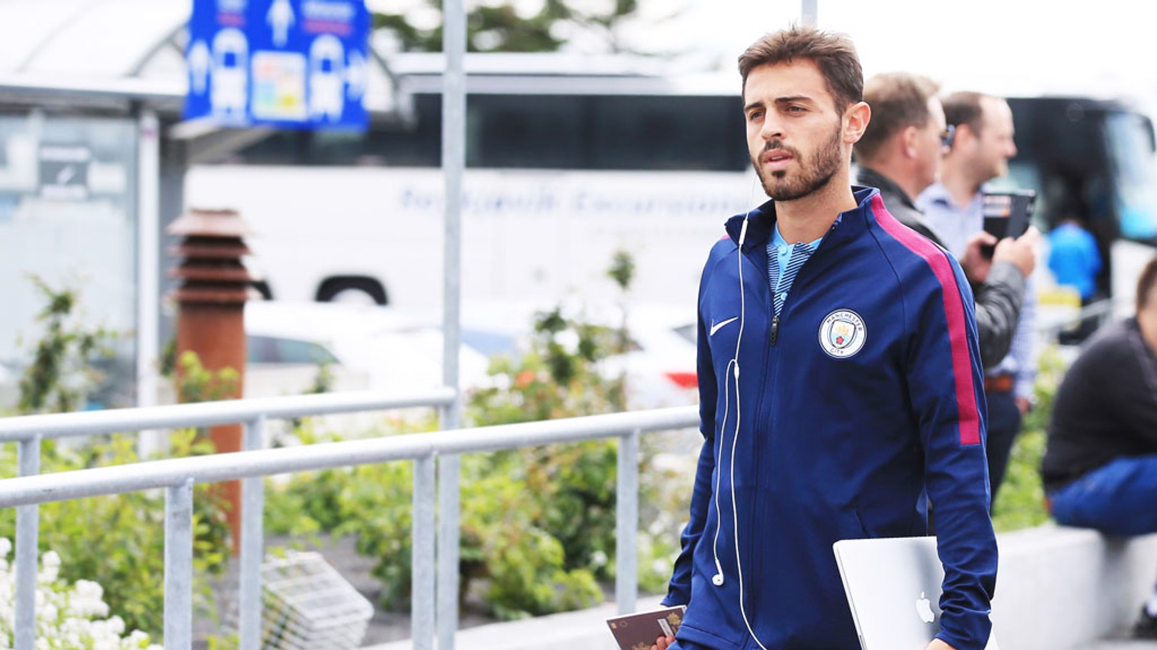 BERNARDO SILVA: The summer signing has joined the squad after an extended summer break.