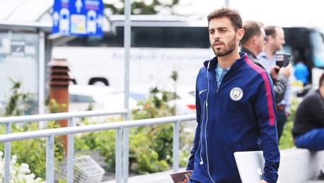 BERNARDO SILVA: Usai libur panjang, Bernardo Silva gabung skuat.