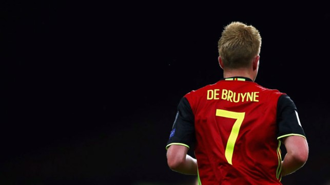 KDB: Our midfielder was in action during Belgium's 3-3 draw with Mexico.