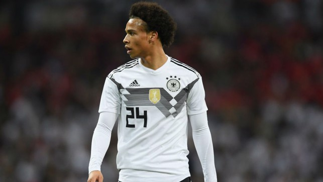 INTERNATIONAL DUTY: Leroy Sane featured in the goalless draw for his home side.
