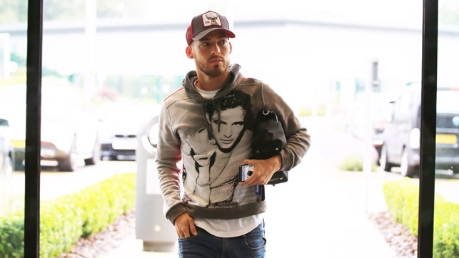 FRESH: David Silva shows off his new look