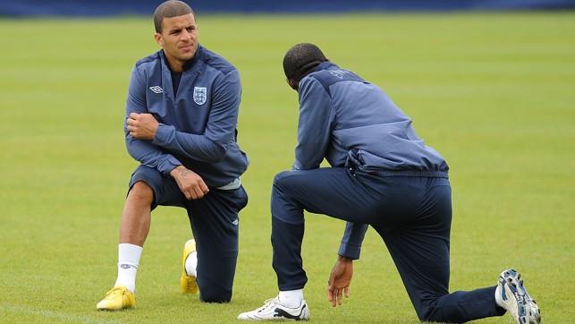 England duty...