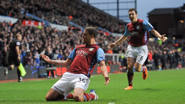 On the mark for Villa in 2011