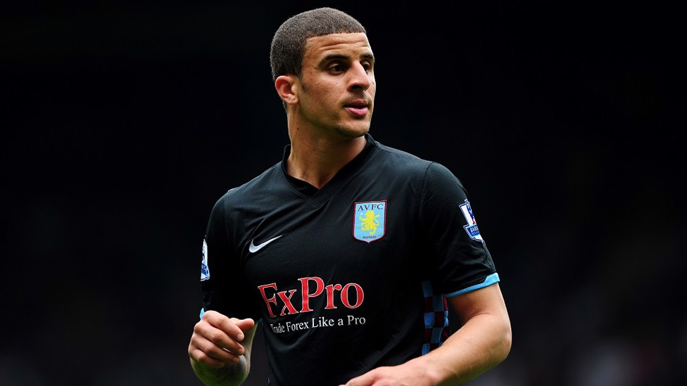 More Villa action for the young Walker in 2011