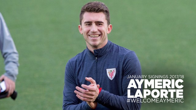 STATS AND FACTS: Aymeric Laporte's key numbers.