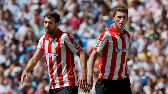 DEBUT SEASON: Having joined the Athletic Bilbao youth set-up in 2010, Laporte made his first appearance in the 2012/13 season, aged 19.