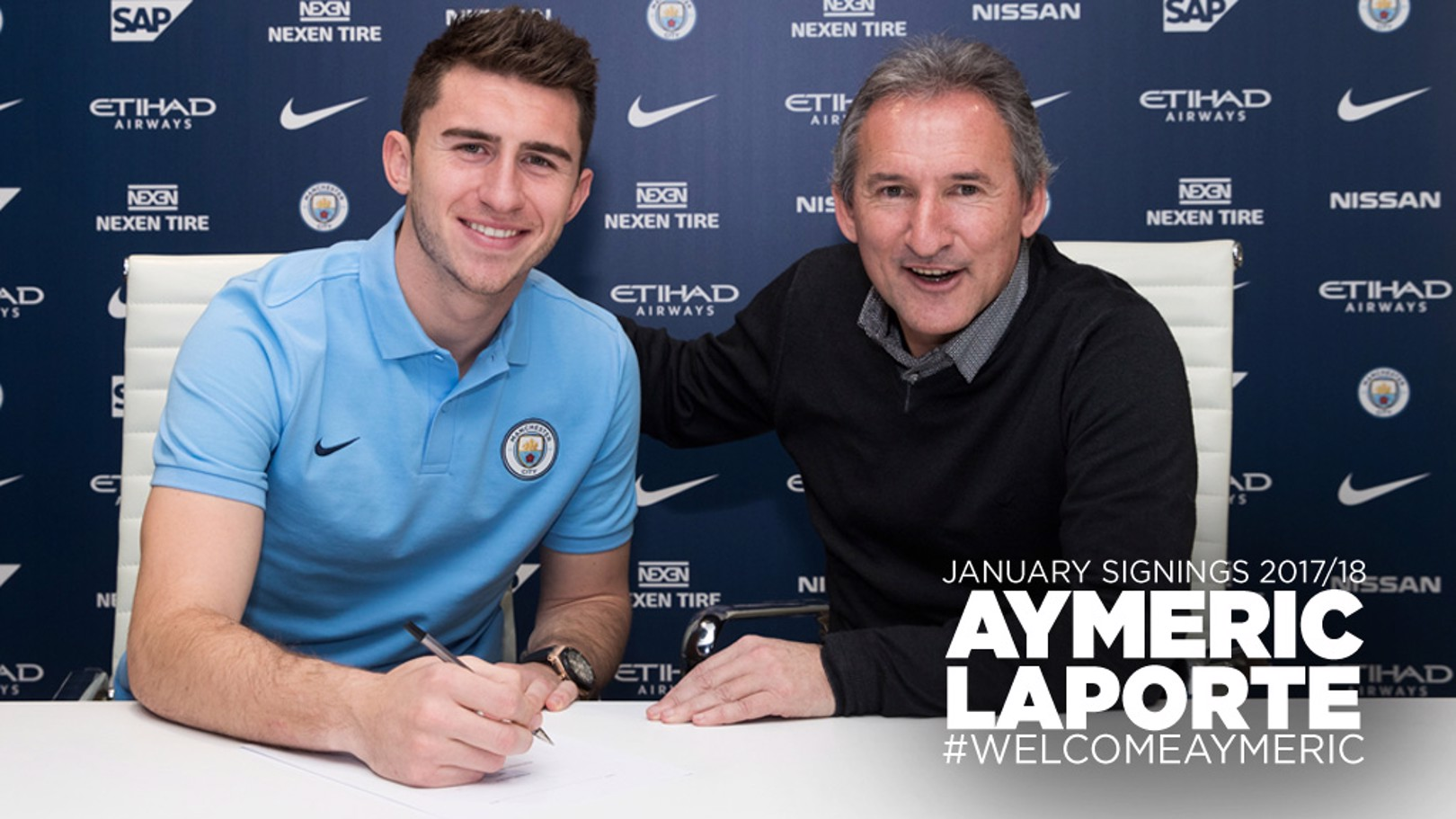 DONE DEAL: Aymeric Laporte has signed for City