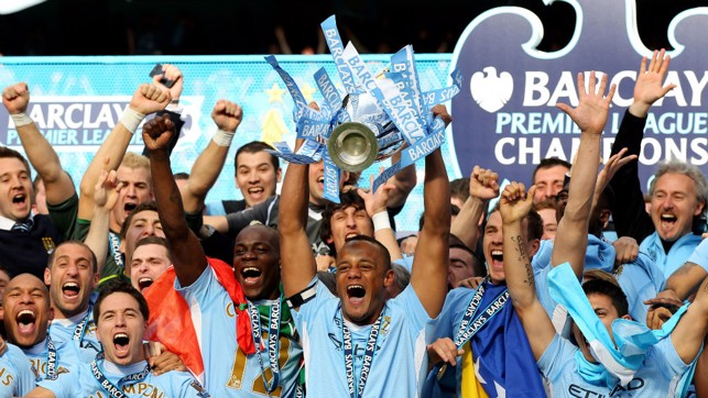 2012: Who could forget that Premier League win?!