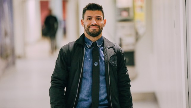SUPER SERGIO: Aguero looks a cut above as he travels to Italy chasing more records