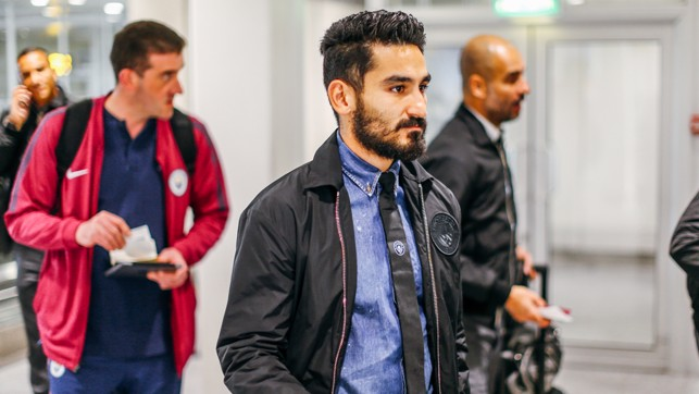 SILKY ILKAY: Our German pass master deep in thought