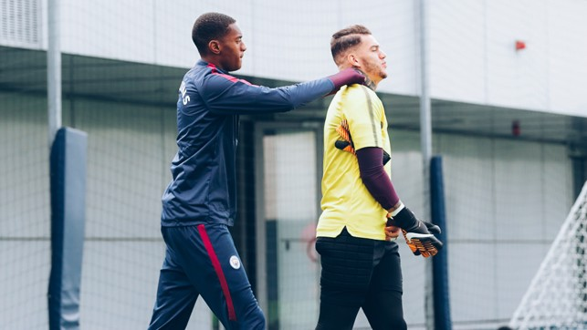TOSIN: Young defender gives a helping hand to Ederson