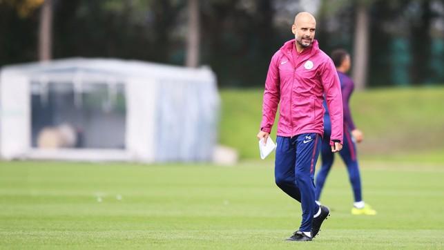 MAN WITH THE PLAN: Boss Pep Guardiola