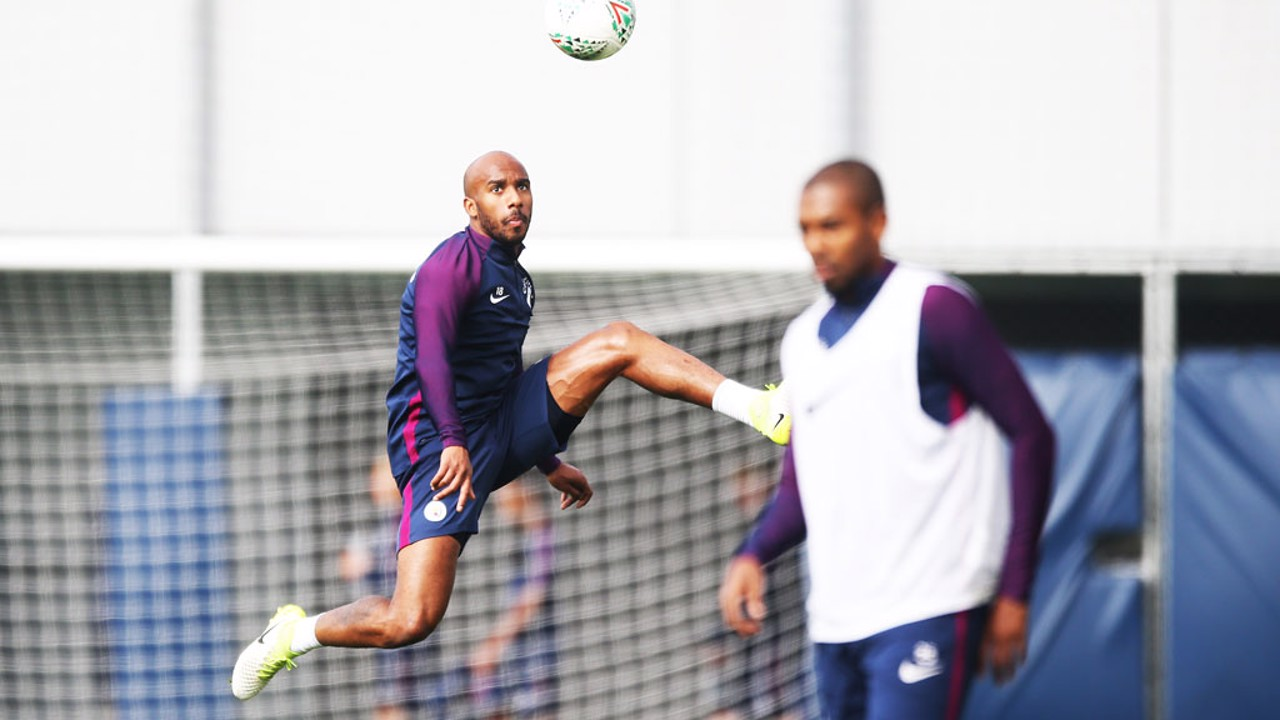 ABSOLUTELY FAB: Fabian Delph's aerial control