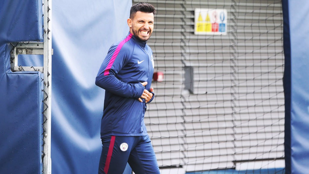 SERGIO: The smiling assassin...