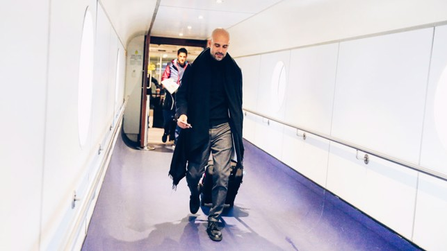 PEP: Well, he always dresses to impress