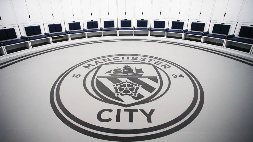 IN THE ROUND: The new Manchester City dressing room