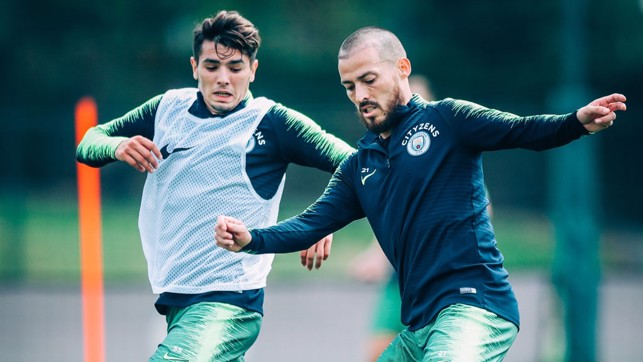 SPANISH HUSTLE: It's Brahim versus David Silva