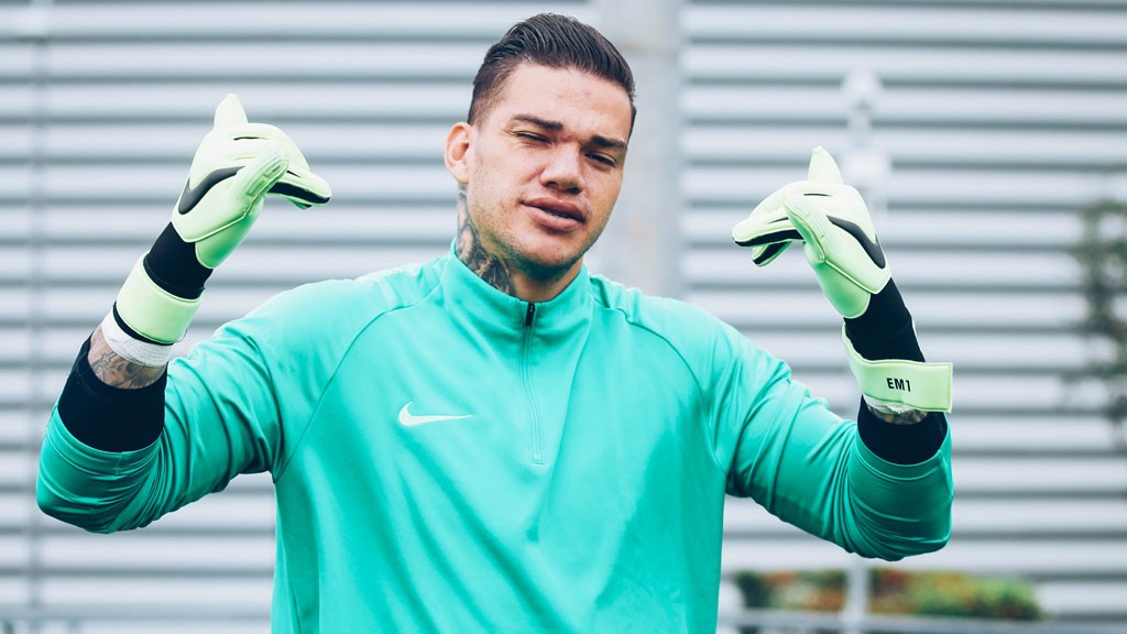 ASSIST KING: Ederson as relaxed as ever!