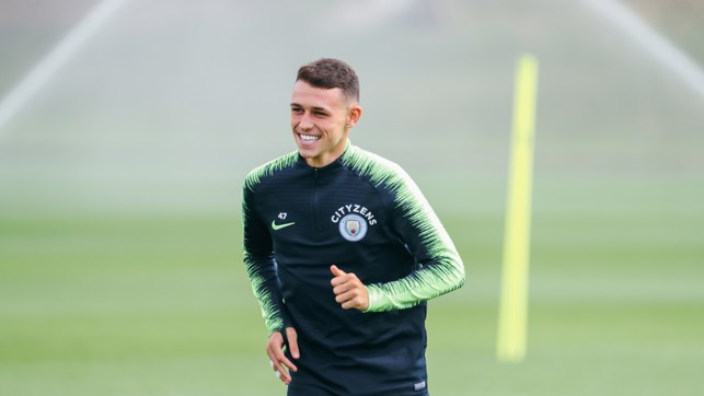 PHIL OF THE FUTURE: Will Phil Foden earn more Premier League minutes on Sunday?