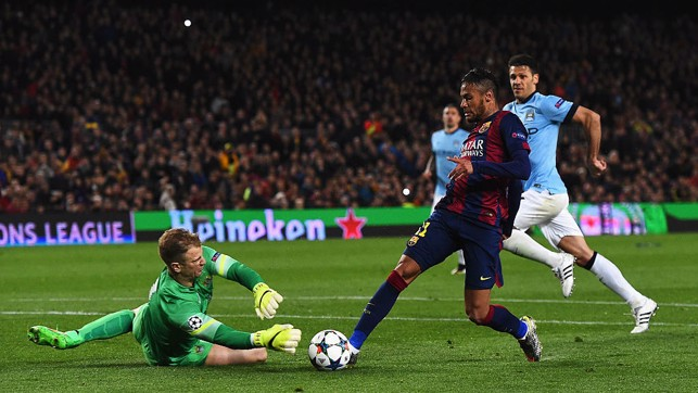 NOU CAMP: A fantastic effort against Barcelona back in 2015.